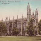 Graham Memorial Chapel Washington University St. Louis Missouri MO Postcard - 5125