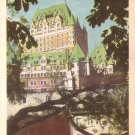 Chateau Frontenac Hotel in Quebec Canada Vintage Postcard - 5145