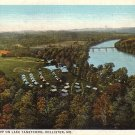 YMCA Camp on Lake Taneycomo Hollister Missouri MO Postcard - 5162