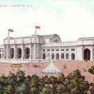 View of Union Station and Grounds in Washington DC Vintage Postcard - 5178