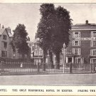 The Globe Hotel in Exeter Devon England United Kingdom Vintage Postcard - 5179