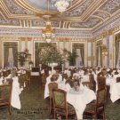 Louis XVI Dining Room in Hotel La Salle Chicago Illinois IL Postcard - 5188