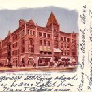 The Alamo Hotel in Colorado Springs CO 1907 Vintage Postcard - 5193