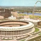 Busch Memorial Stadium in St. Louis Missouri MO Chrome Postcard - 5197