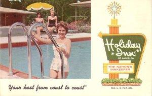 Holiday Inn at Rolla Missouri MO Chrome Advertising Postcard - 5199