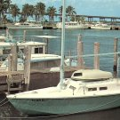 Municipal Yacht Basin at Fort Myers Florida FL Chrome Postcard - 5211