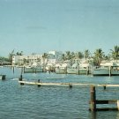 Hillsboro Inlet at Pompano Beach Florida FL Chrome Postcard - 5217