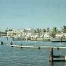 Hillsboro Inlet at Pompano Beach Florida FL Chrome Postcard - 5217