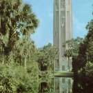 1954 View of Singing Tower in Lake Wales Florida FL Chrome Postcard - 5224