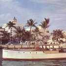Charter Fishing Boats Returning from Trip at Fort Lauderdale Florida FL Chrome Postcard - 5235