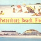 St. Petersburg Beach Florida FL Chrome Postcard - 5238