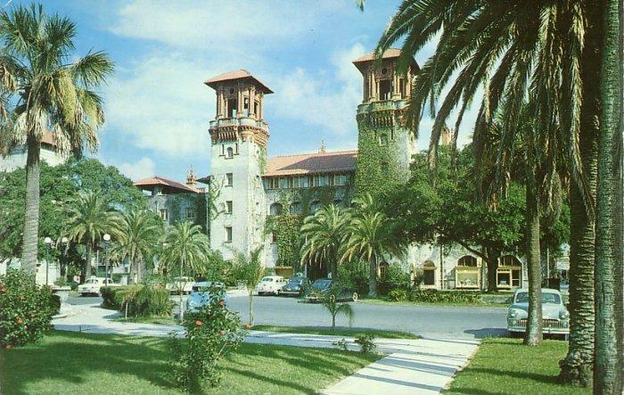 The Municipal Lightner in St. Augustine Florida FL Postcard - 5247