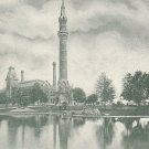 The Detroit Water Works Tower in Michigan MI Vintage Postcard - 3935