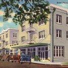 Hotel Plant in Plant City Florida FL 1939 Curt Teich Linen Postcard - 3956