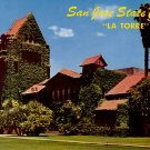 La Torre at San Jose State College in California CA Chrome Postcard - 3959