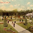 1914 View of Shaw's Garden in St. Louis Missouri MO Vintage Postcard - 3982