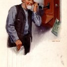 The Party Line 1914 Advertising Postcard for Successful Farming Publishing Co. Postcard - 3995