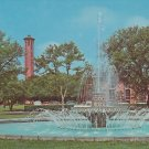 Eugenia Miller Fountain, Trinity University San Antonio Texas TX Chrome Postcard - 5274