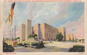 Electrical Building at Texas Centennial Exposition Dallas Texas TX Postcard - 5277