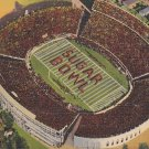 Sugar Bowl, Tulane Stadium New Orleans, Louisiana LA 1940 Linen Postcard - 5283