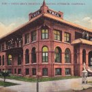 YMCA Building in Riverside California CA, 1913 Vintage Postcard - 5284