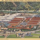 First National Studios in Burbank California CA 1937 Linen Postcard - 5286