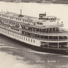 Delta Queen River Boat, Mid Century Real Photo Postcard - 5312