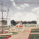 Electric Swing at Electric Park in Kansas City Missouri MO, 1908 Vintage Postcard - 5313