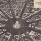 Panorama View of Paris France, Vintage Postcard - 5322
