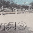Croquet Court, Walnut Grove Ranch USA 1916 Vintage Postcard 5323