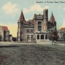 Knights of Pythias State House in Springfield Ohio OH, 1910 Vintage Postcard - 5335