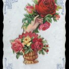 Sincere Affection, Novelty Greetings Vintage Postcard - 5362