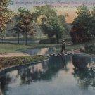 Stepping Stone Bridge in Washington Park Chicago Illinois IL Vintage Postcard - 05365