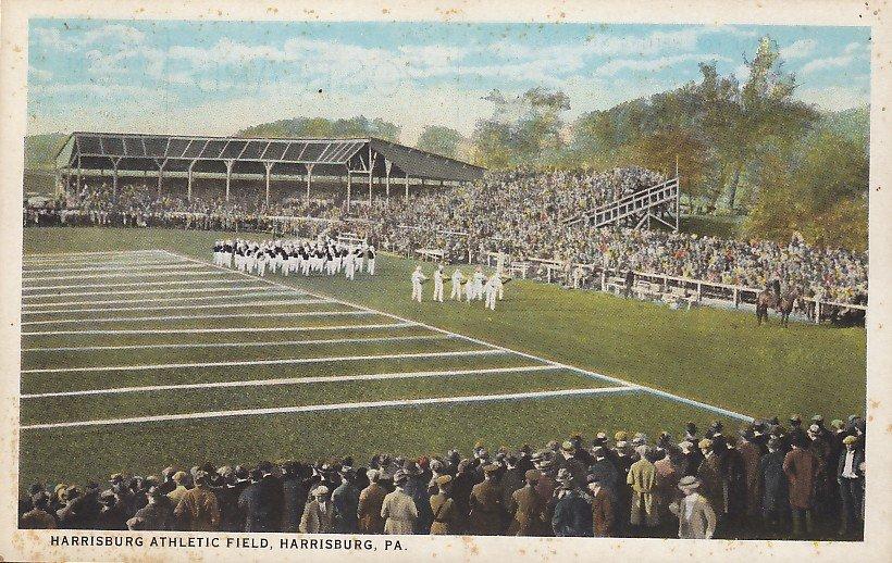 Harrisburg Athletic Field in Pennsylvania PA, Vintage Postcard - 5378