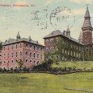Rhode Island Hospital Providence RI 1912 Vintage Postcard - 4967