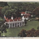 Washington's Home in Mt. Vernon Virginia VA 1921 Vintage Postcard - 4239