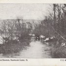 North River at Manchester Center Vermont 1912 Vintage Postcard - 4962