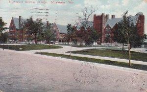 Milwaukee Downer College Wisconsin WI, 1912 Vintage Postcard - 5409