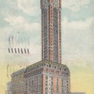 Singer Building New York City NY, 1910 Vintage Postcard - 5389