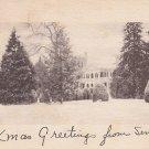 Sweet Briar Plantation Winter Scene in Virginia VA - 5431