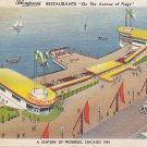 Thompson's Restaurants Chicago World's Fair 1933 Postcard - 5462