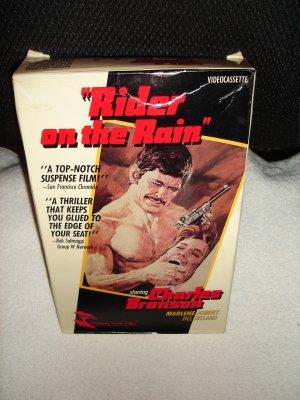 Rider in the Rain - Charles Bronson - VHS