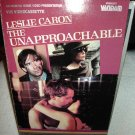 The Unapproachable  -  Leslie Caron  -  VHS