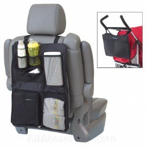 Kiddopotamus Trios Tote Baby Organizer for Car or Stroller