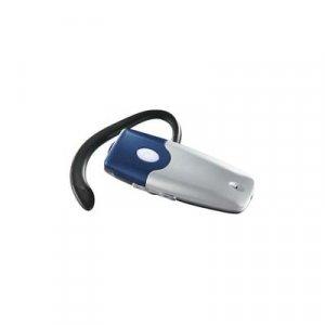 PBH-8W Bluetooth Wireless Phone Earloop Headset, Blue/Silver