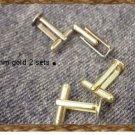 Silver Blank cufflinks~make your own~ cufflink backs