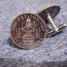 P's Coin Jewelry~COIN JEWELRY SCOTTISH CREST CUFFLINKS