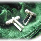 Sterling silver cufflink backs blanks cuff link pair