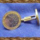 Winged Icarus French 10 Franc Coin Cufflinks~bimetal~