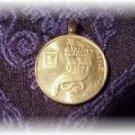 P'S COIN JEWELRY   ISRAELI COIN PENDANT GOLD CORNUCOPIA